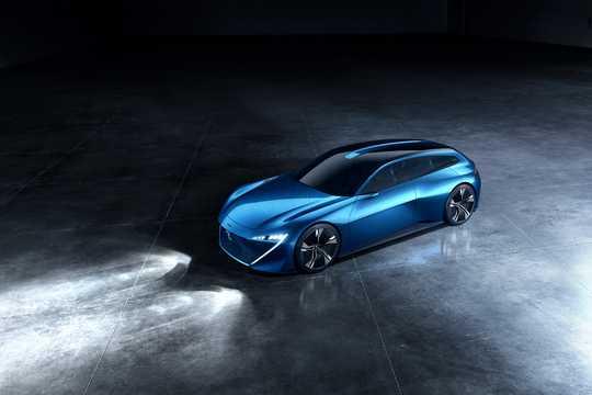 Fram/Sida av Peugeot Instinct Concept Concept, 2017