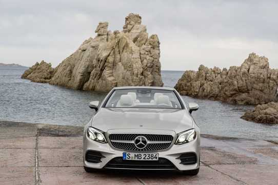 Front  of Mercedes-Benz E-Class Cabriolet 2017