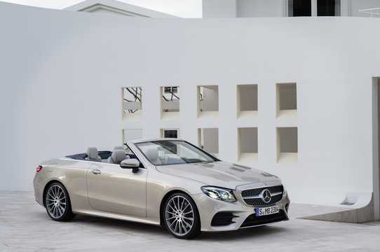 Front/Side  of Mercedes-Benz E-Class Cabriolet 2017