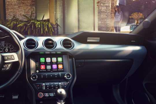 Interiör av Ford Mustang GT 5.0 V8 Manuell, 459hk, 2018