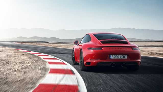 Back/Side of Porsche 911 Carrera GTS 3.0 H6 PDK, 450hp, 2017