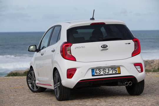 Back/Side of Kia Picanto 2018