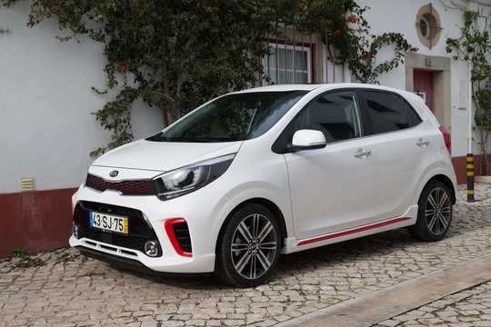 Front/Side  of Kia Picanto 2018