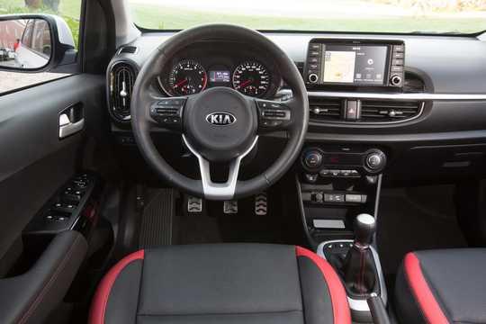 Interior of Kia Picanto 2018