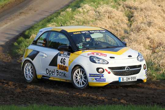 Front/Side  of Opel Adam Cup 1.6 Sequential, 140hp, 2016