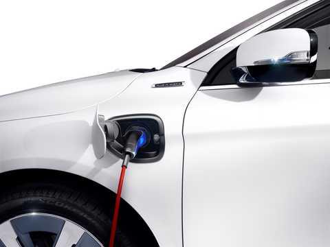 Närbild av Volvo XC-60 Plug-in Hybrid Plug-in Hybrid AWD Automatisk, 355hk, 2012