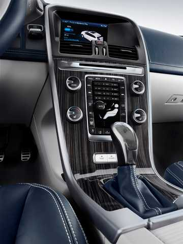 Interiör av Volvo XC-60 Plug-in Hybrid Plug-in Hybrid AWD Automatisk, 355hk, 2012