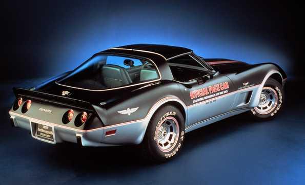 Back/Side of Chevrolet Corvette Stingray 1978