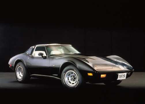 Front/Side  of Chevrolet Corvette Stingray 1979