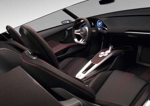Interiör av Audi e-tron Spyder 3.0 TDI V6 quattro S Tronic, 475hk, 2010