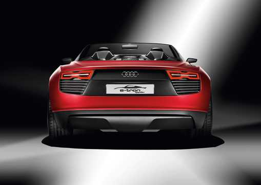 Bak av Audi e-tron Spyder 3.0 TDI V6 quattro S Tronic, 475hk, 2010