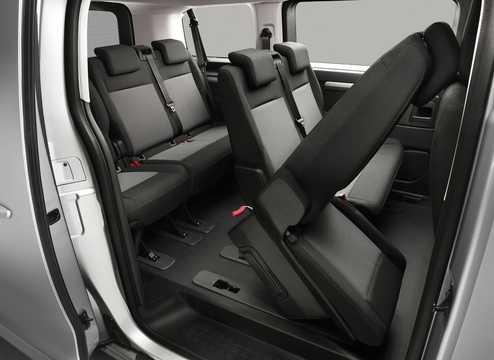 Interiör av Citroën Spacetourer 3rd Generation