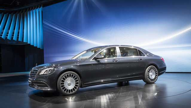 Mercedes-Benz S-Cl Maybach W222 Facelift
