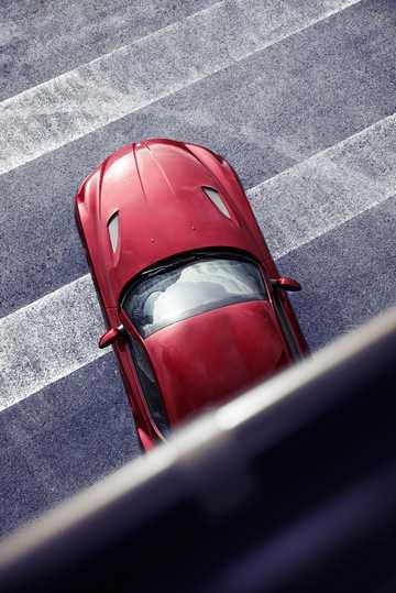 Top  of BMW Zagato Coupé Concept Concept, 2012