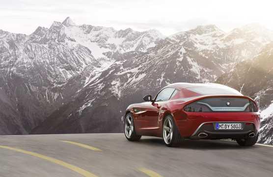 Back/Side of BMW Zagato Coupé Concept Concept, 2012
