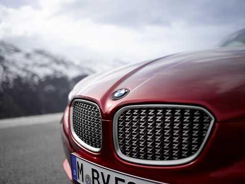 Close-up of BMW Zagato Coupé Concept Concept, 2012
