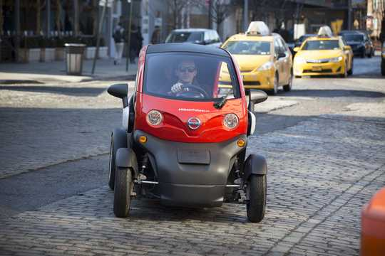 Fram av Nissan New Mobility 6.1 kWh Single Speed, 17hk, 13kW, 2016