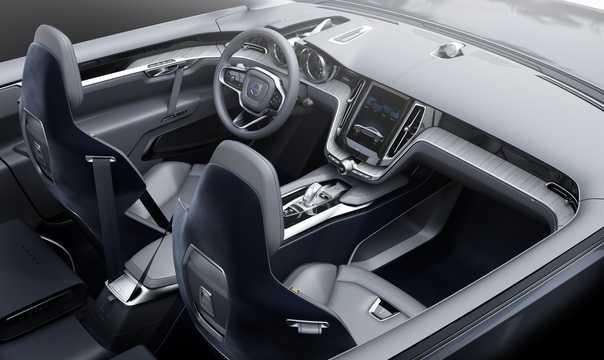 Interior of Volvo Concept Coupé Concept Concept, 2014