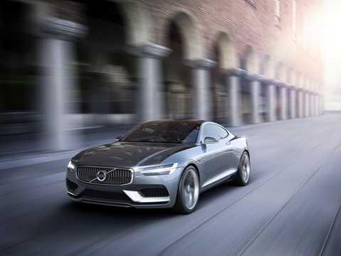Front/Side  of Volvo Concept Coupé Concept Concept, 2014
