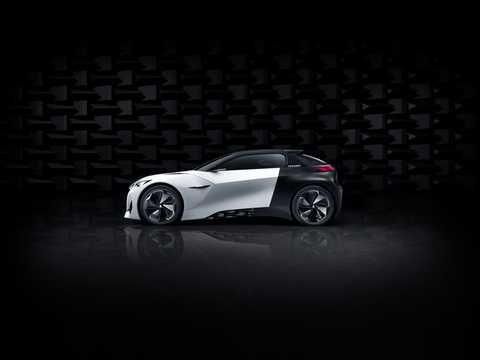 Side  of Peugeot Fractal Concept Concept, 2015