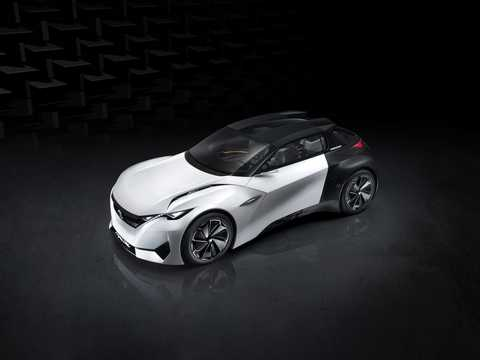 Front/Side  of Peugeot Fractal Concept Concept, 2015
