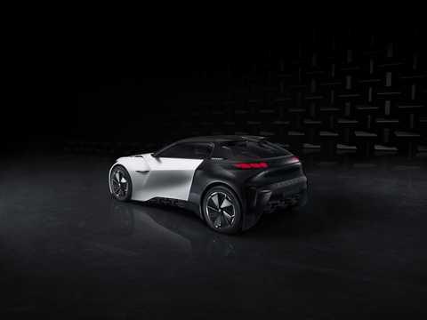 Back/Side of Peugeot Fractal Concept Concept, 2015