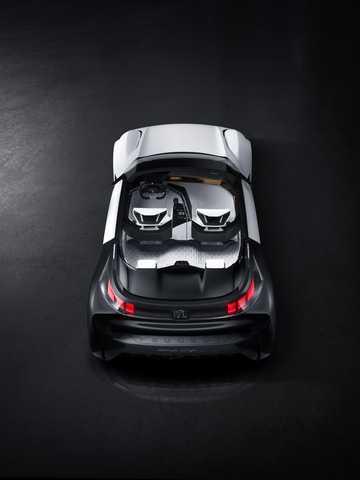 Bak av Peugeot Fractal Concept Concept, 2015