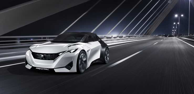 Fram/Sida av Peugeot Fractal Concept Concept, 2015
