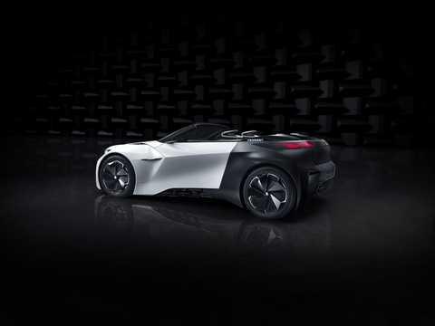 Bak/Sida av Peugeot Fractal Concept Concept, 2015