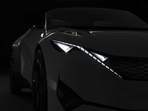 Närbild av Peugeot Fractal Concept Concept, 2015