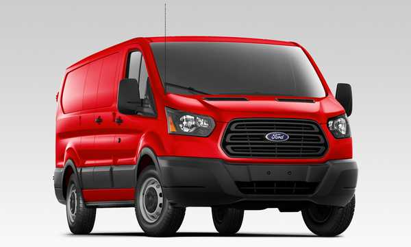 Front/Side  of Ford Transit 5th Generation