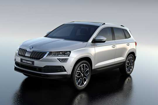 Front/Side  of Skoda Karoq 1st Generation