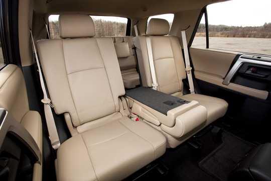 Interior of Toyota 4Runner 2010