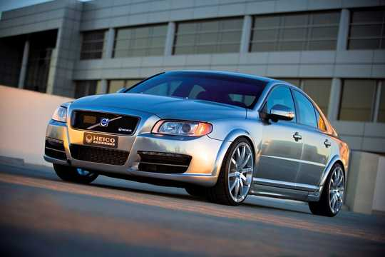 Front/Side  of Volvo S80 HPC 3.2 T6 AWD Concept, 354hp, 2007