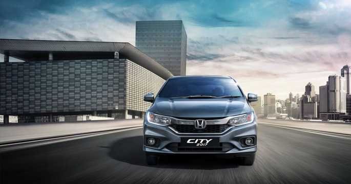 Front  of Honda City Sedan 2017
