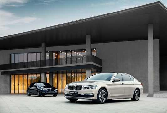Front/Side  of BMW 5 Series Sedan LWB 2018