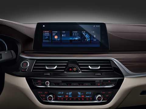 Interior of BMW 5 Series Sedan LWB 2018