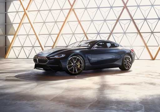 Front/Side  of BMW 8 Series Concept Concept, 2017