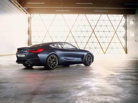 Back/Side of BMW 8 Series Concept Concept, 2017