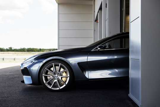 Close-up of BMW 8 Series Concept Concept, 2017