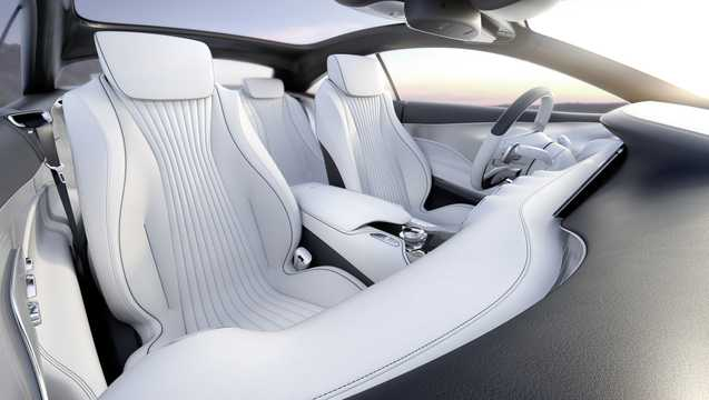 Interior of Mercedes-Benz S-class Coupé 4.6 V8 Concept, 455hp, 2013