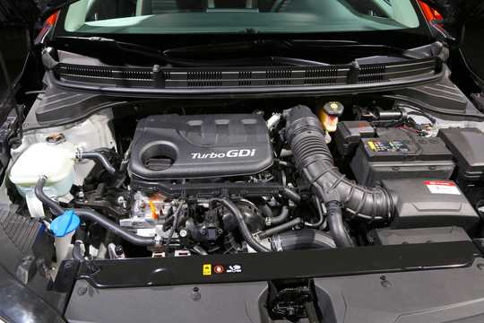 Engine compartment  of Kia Stonic 1st Generation