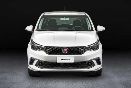 Front  of Fiat Argo 1.0 E85 Manual, 75hp, 2017