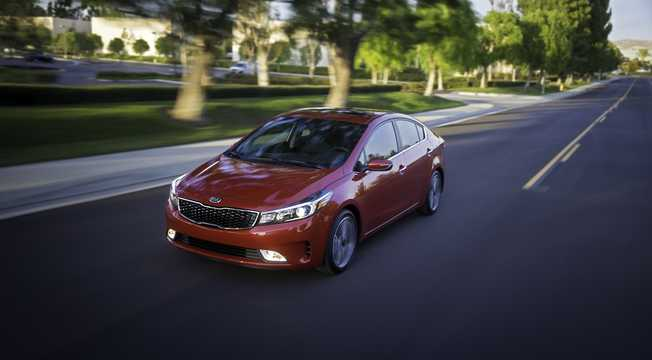 Front/Side  of Kia Forte 2017