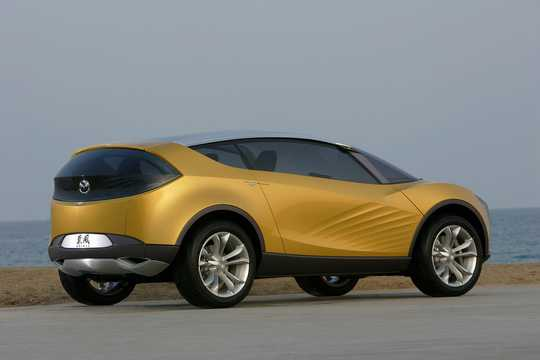 Back/Side of Mazda Hakaze 2.3 4WD Automatic, 266hp, 2007