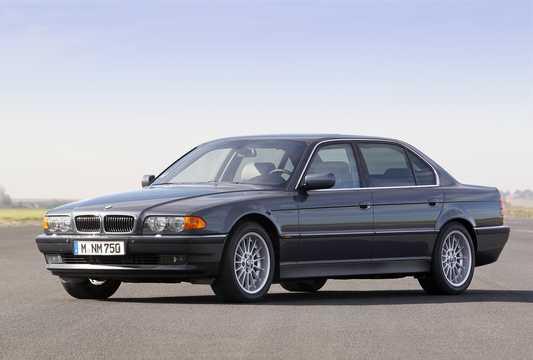 BMW 7 Series E38 Facelift