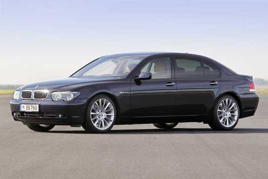 Front Side Of BMW 760Li 60 V12 Automatic 445hp 2002