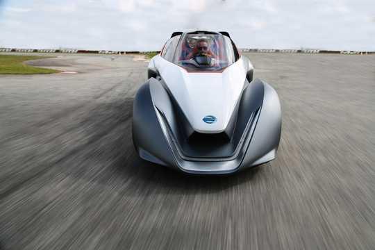 Fram av Nissan BladeGlider Concept Concept, 2014