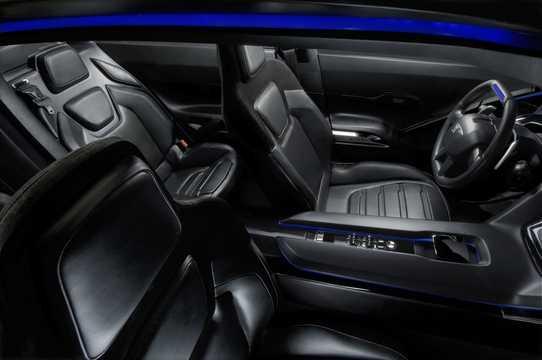 Interiör av Peugeot RC Hybrid4 1.6 THP AWD Automatisk, 317hk, 2008
