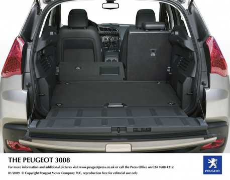Bak av Peugeot Prologue Hybrid4 2.0 HDi FAP 4WD Concept, 200hk, 2008